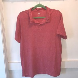 🌵5/$25 Old Navy Light Red Polo